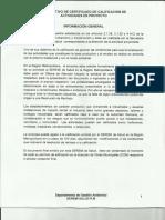 Calificación Industrial Instructivo