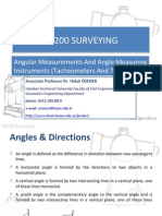 Angle measurement theodolite