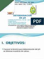 EXPO DE pH.