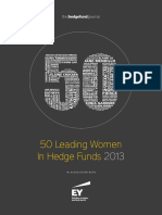 HFJ 50 Women in Hedge Funds 2013