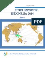 Direktori Importir Indonesia 2014 Jilid I