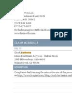 Linda Ellis Copyright - Extortion Letters - Chuck Barberini Invoice