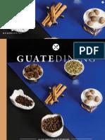 Colaboración en la revista Guatedining - Edición 28 - Diciembre 2015