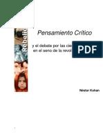 Debate en Torno a Las Ciencias Sociales y La Revolución Cubana