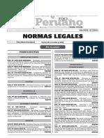 Normas Legales, viernes 18 de diciembre del 2015