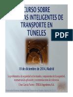 Sistemas inteligentes de transporte en túneles