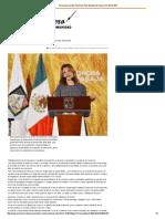 16-12-15 Presenta Claudia Pavlovich Plan Estatal de Desarrollo 2016-2021 - El Reportero