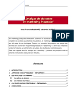 L'analyse de données en marketing industriel - JFP