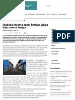 2014 Riosucio Intenta Sanar Heridas Viejas Bajo Nuevos Fuegos