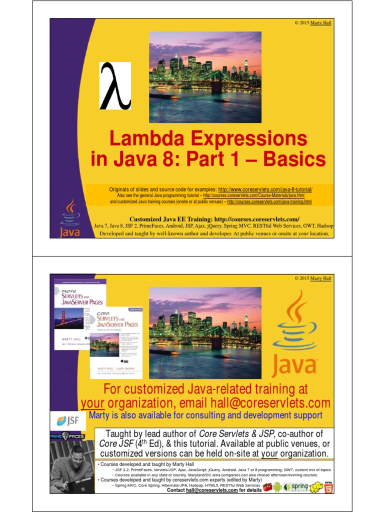 13 java 8 lambda expressions part 1pdf anonymous function 13 java 8 lambda expressions part 1pdf anonymous function method computer programming baditri Images