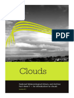National Meteorological Library Fact Sheet 1 an Introduction to Clouds PDF