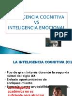 Inteligencia Emocional vs Inteligencia cognitiva