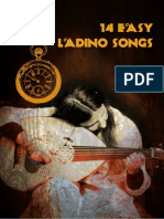 14 Easy Ladino Songs for Internet With Lyrics and Cords