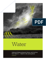 National Meteorological Library Fact Sheet 3 Water in the Atmosphere PDF