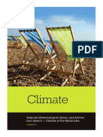 National Meteorological Library Fact Sheet 4 Climate of the British Isles PDF