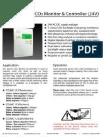 CO2 Monitor Controller 24V