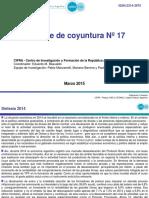CIFRA. Informe de Coyuntura. Nro 17. Marzo 2015