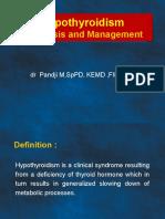 Hyphothyroidism Kuliah Dr Pandji