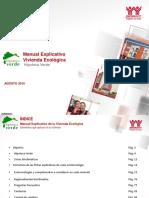Manual Explicativo de Vivienda Ecologica