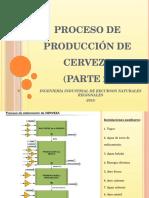 Proceso de Producción de Cerveza. Parte 2