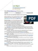 Pa Environment Digest Dec. 21, 2015