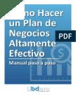Como Hacer Un Plan de Negocios Altamente Efectivo