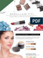 Catalogo Maquillaje TITI