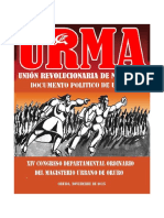 Documento Politico de Urma