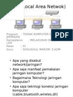 LAN (Local Area Netwok)
