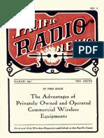 Pacific Radio Vol 1 3 Mar 1917