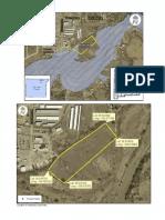 Proposed location of Aztec solar farm