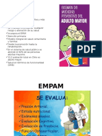 Examen Preventivo adulto mayor