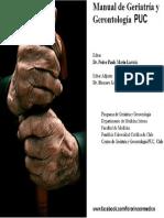 Manual de Geriatria y Gerontologia