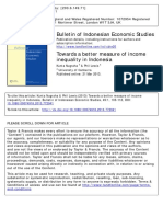Nugraha and Lewis 2013 Income Inequalities