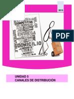 Unidad 5 Canales de Distribucion