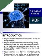 Psychoanalytic Approach - For Presentation