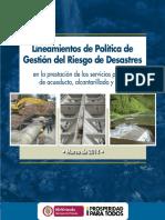 Doc Política de Gestión Del Riesgo Sectorial -Marzo 2014