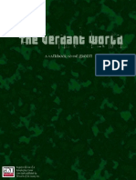 d20 a New Arcadia Publications the Verdant World