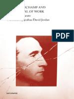 Maurizio Lazzarato Marcel Duchamp and the Refusal to Work