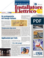 Vetrina Installazione civile 'Soluzione hi-tech per il videocontrollo domestico' - Il Giornale dell'Installatore Elettrico n. 5 - 10 Aprile 2004 - Anno 26 - www.intellisystem.it