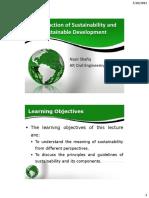 Sustainability Theories