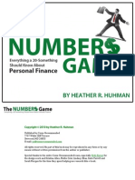 The Numbers Game - Everything a 20-Something Should Know About Personal Finance (Preview)
