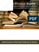 IIT JAM Physics Reference Books