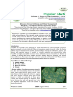 Diseases of Cucurbit Crops and Their Management