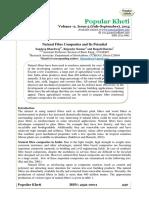 Natural Fibre Composites and Its Potential