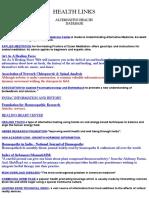 Alternative Health Database
