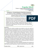 Trichoderma- A Potential Bioagent in Plant Disease Management