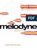 Manual Melodyne Editor Spanish