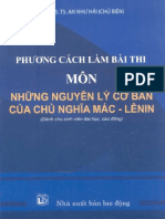 phuong cach lam bai thi mon nhung nguyen ly co ban cua chu nghia mac lenin 4557