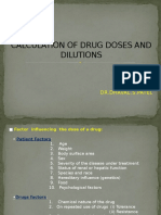 Calculations &Dilutions (2)